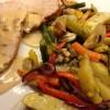 Kalkunbryst med ovnsstekte grønnsaker 1