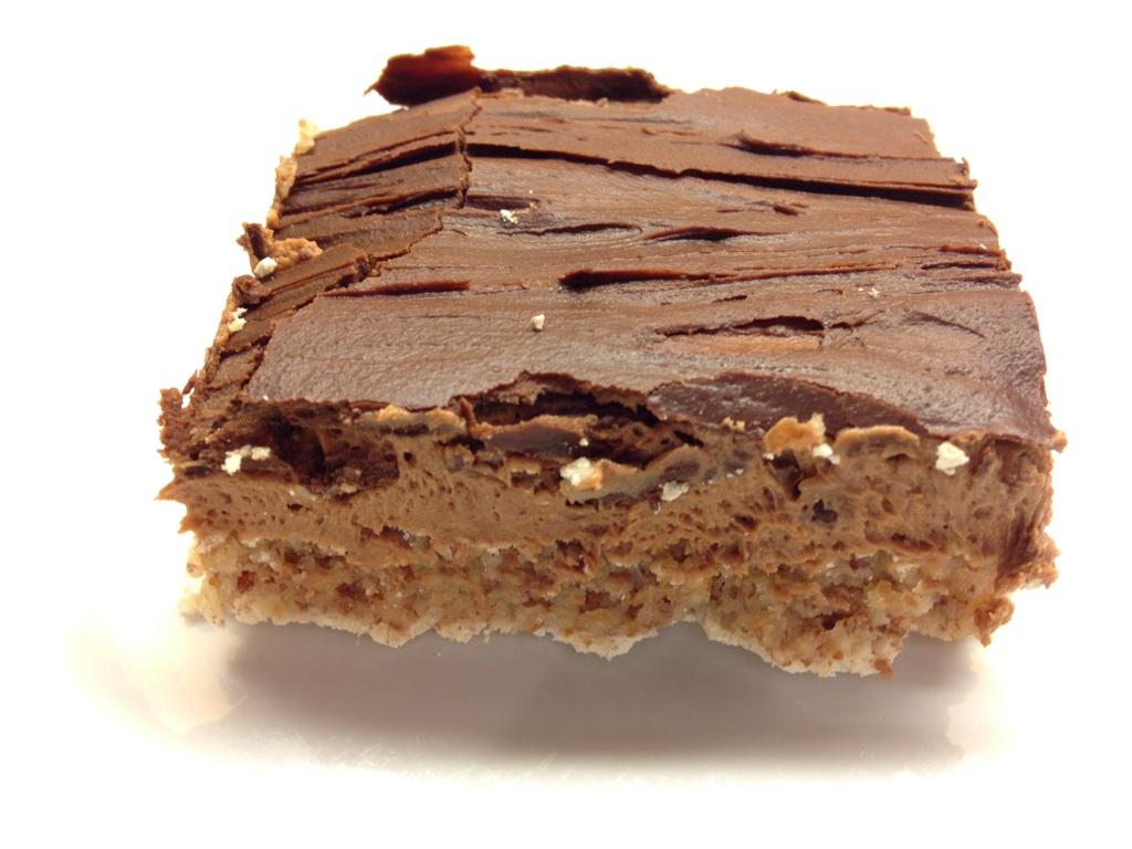 mandelmarengs med sjokoladekrem