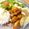 Crispy kylling på fat