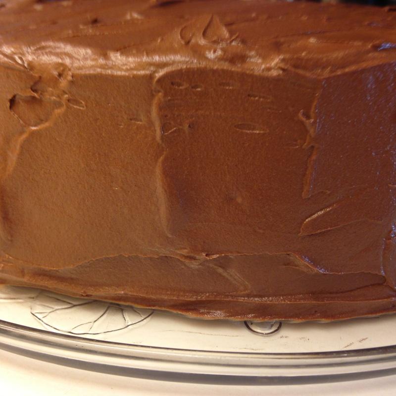 Festsjokoladekake side