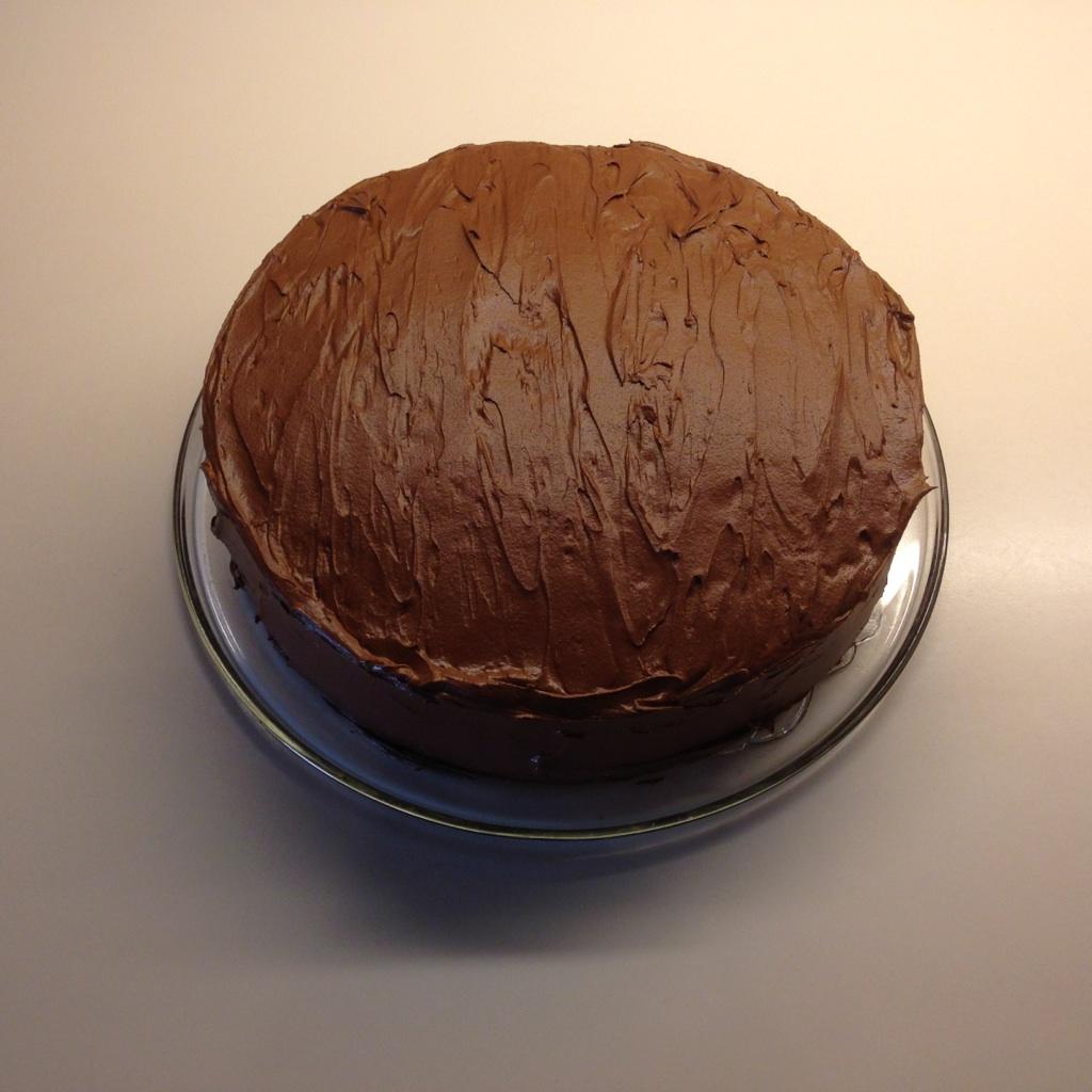 Festsjokoladekake