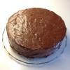 Sjokaladekake med sjokoladeeggedosissmørkrem