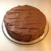 Sjokoladekake med fløyelsmyk sjokoladekrem