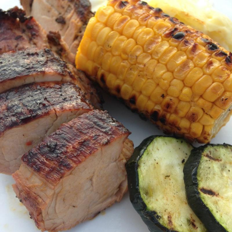 indrefilet svin grill