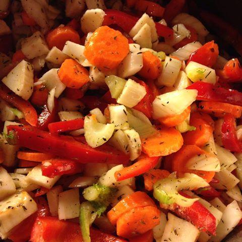 grønnsaker til oksefilet